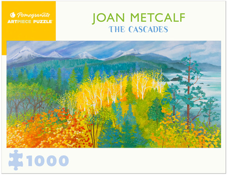 Pomegranate 1000 Piece Jigsaw Puzzle: Joan Metcalf: The Cascades