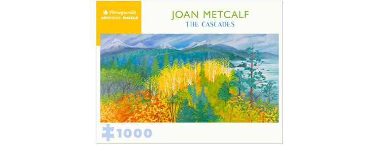 Pomegranate 1000 Piece Jigsaw Puzzle: Joan Metcalf: The Cascades $23.95