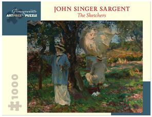 Pomegranate 1000 Piece Jigsaw Puzzle: John Singer Sargent: The Sketchers