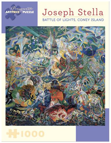 Pomegranate 1000 Piece Jigsaw Puzzle Joseph Stella: Battle of Lights