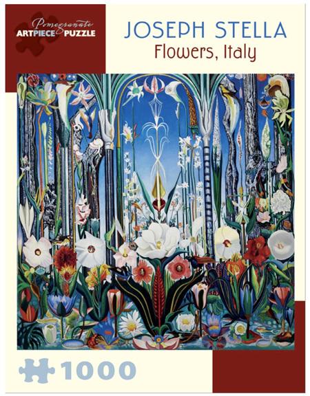 Pomegranate 1000 Piece Jigsaw Puzzle Joseph Stella: Flowers Italy