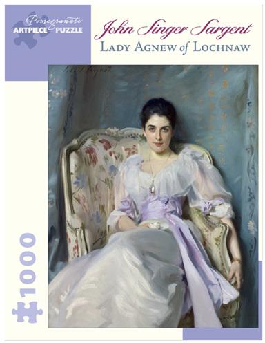 Pomegranate 1000 Piece Jigsaw Puzzle  Lady Agnew Of Lochnaw
