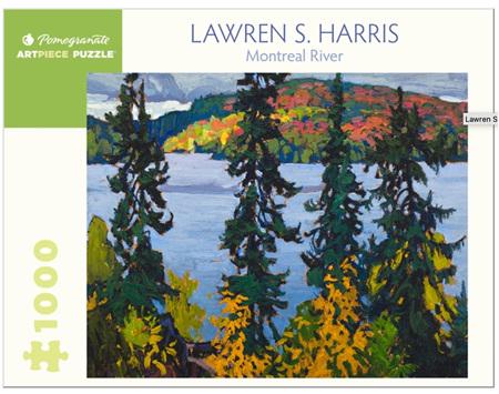 Pomegranate 1000 Piece Jigsaw Puzzle: Lawren Harris: Montreal River