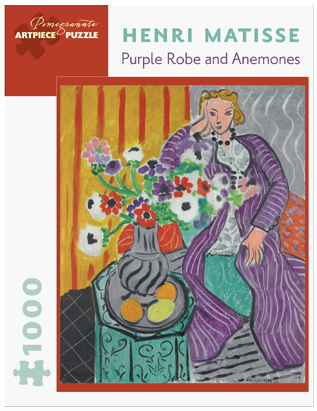 Pomegranate 1000 Piece Jigsaw Puzzle Matisse: Purple Robes & Anemones