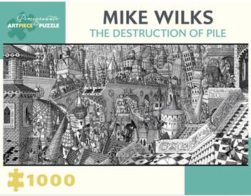 Pomegranate 1000 Piece Jigsaw Puzzle  Miles Wilks: The Destruction of Pile