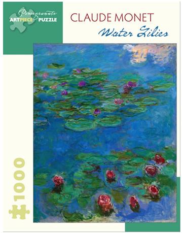 Pomegranate 1000 Piece Jigsaw Puzzle: Monet - Water Lillies