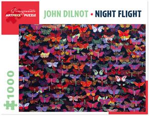 Pomegranate 1000 Piece Jigsaw Puzzle: Night Flight
