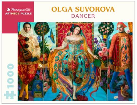 Pomegranate 1000 Piece Jigsaw Puzzle: Olga Suvorova: Dancer