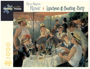 Pomegranate 1000 Piece Jigsaw Puzzle Renoir: Luncheon Of The Boating Party