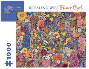 Pomegranate 1000 Piece Jigsaw Puzzle Rosalind Wise: Flower Cycle