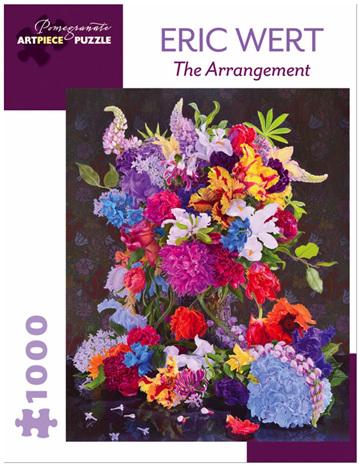 Pomegranate 1000 Piece Jigsaw Puzzle: The Arrangement