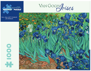 Pomegranate 1000 Piece Jigsaw Puzzle VanGogh: Irises