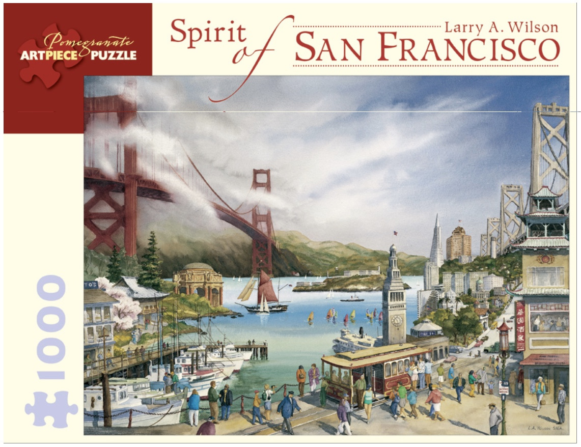 Pomegranate 1000 Piece Jigsaw Puzzle Wilson Spirit Of San