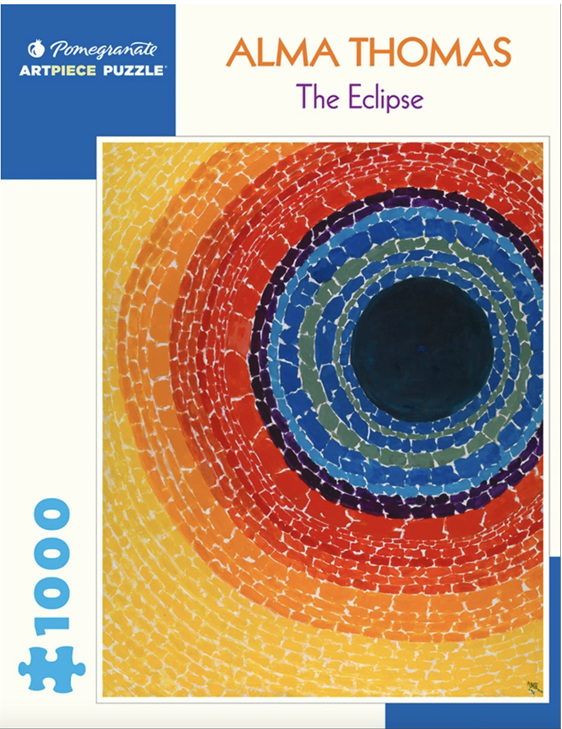 Pomegranate 1000 Piece Puzzle: ALMA THOMAS: THE ECLIPSE at PuzzlesNZ