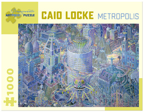 Pomegranate 1000 Piece Jigsaw Puzzle: Caio Locke - Metropolis