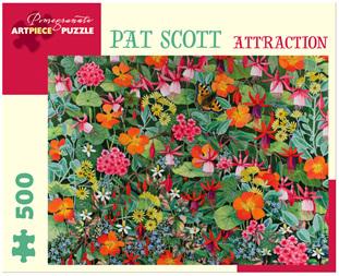 Pomegranate 500 Piece Jigsaw Puzzle: Pat Scott - Attraction