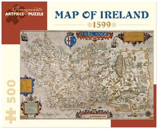 Pomegranate 500 Piece Jigsaw Puzzle   MAP OF IRELAND 1599
