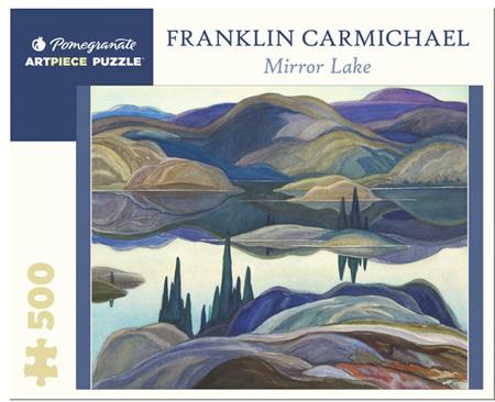 Pomegranate 500 Piece Jigsaw Puzzle: Mirror Lake
