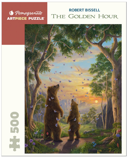 Pomegranate 500 Piece Jigsaw Puzzle: Robert Bissell: The Golden Hour