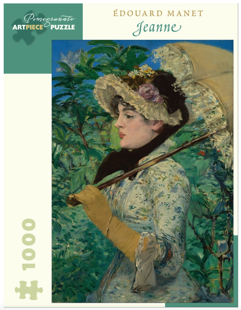 Pomegranate Manet 1000 piece puzzle Jeanne buy at www.puzzlesnz.co.nz