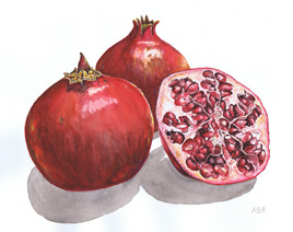 POMEGRANATES (large)