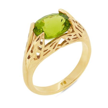 Ponder: Peridot Ring