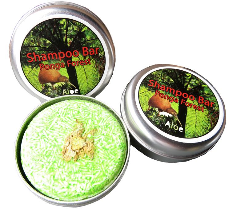 Ponga Forest Aloe Shampoo Bar