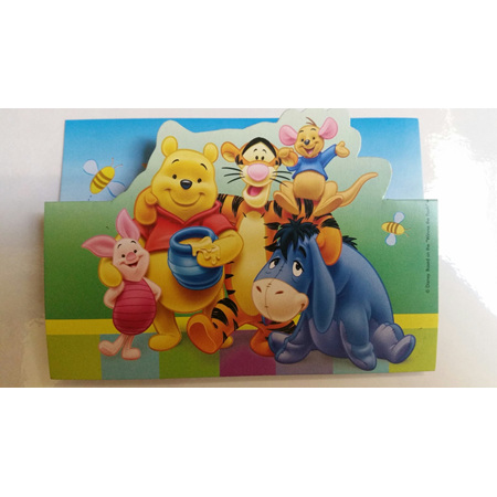 Pooh and Friends Invites x 8