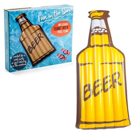 Pool Float Beer Bottle