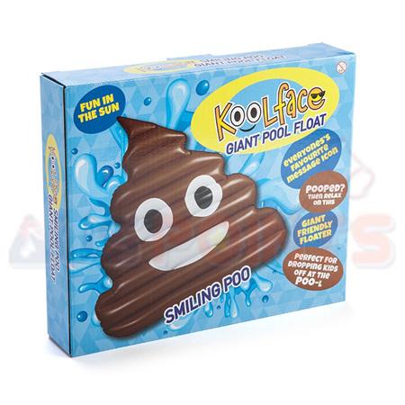 Pool Float Poo Face