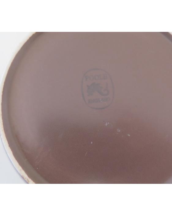 Poole biscuit barrel