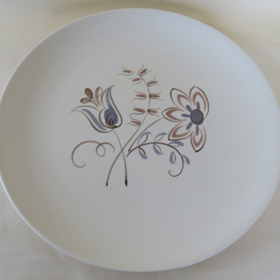 Handpainted plate