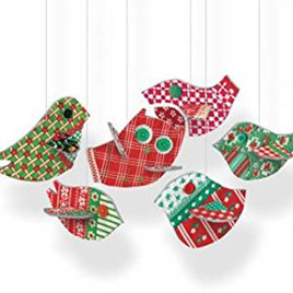 Pop and slot festive birds