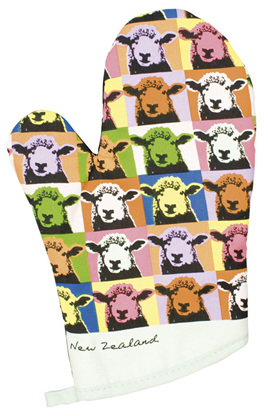 Pop Art Sheep Oven Glove