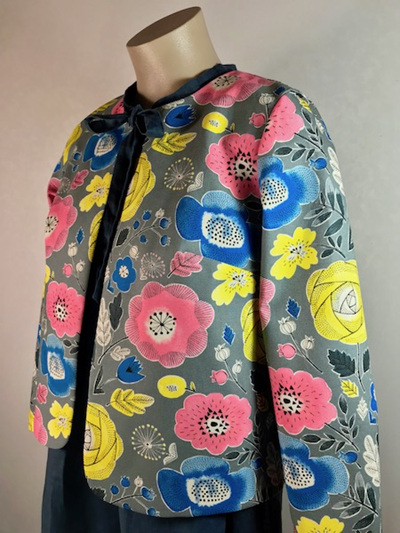 Pop flower box jacket