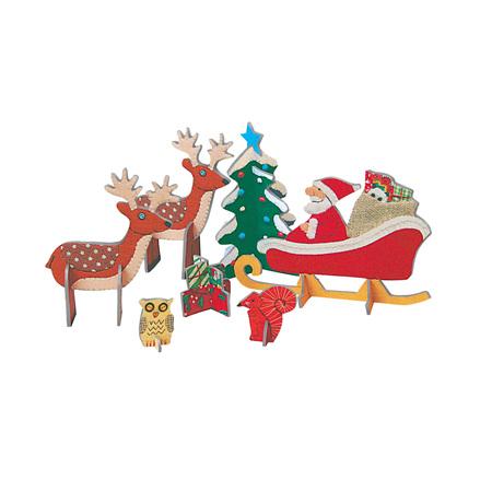 Pop & slot father Christmas