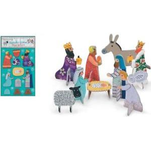 Pop & slot Nativity scene