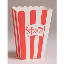 Popcorn Boxes pack of 8