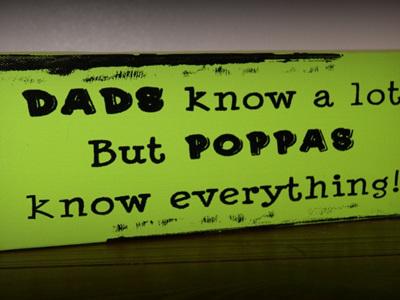 "Poppas Knows Everything 4x12"""