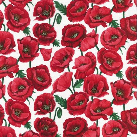 Poppies Blossom White NT80060101