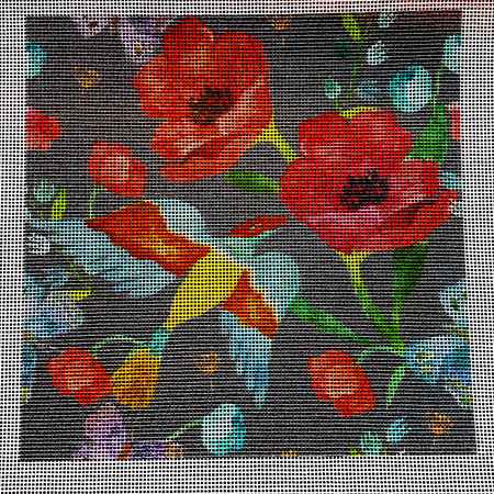 Poppies Grey