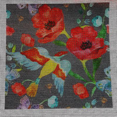 Poppies Grey