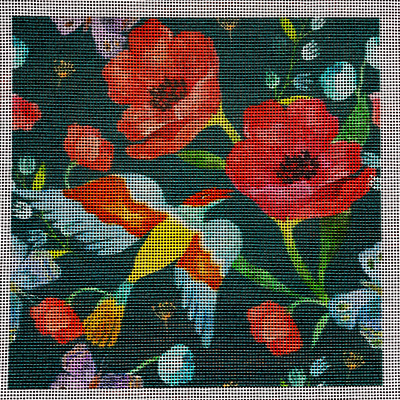 Poppies Green