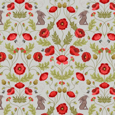 Poppies - Rabbit