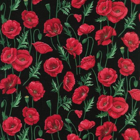 Poppies Stems Black NT80060102
