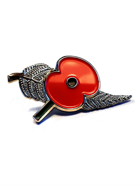 Poppy Fern Pin