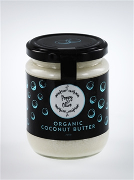 Poppy & Olive Organic Coconut Butter