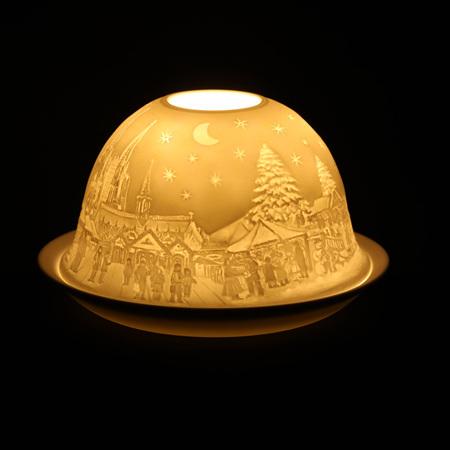 Porcelain Dome Light Cologne, Germany