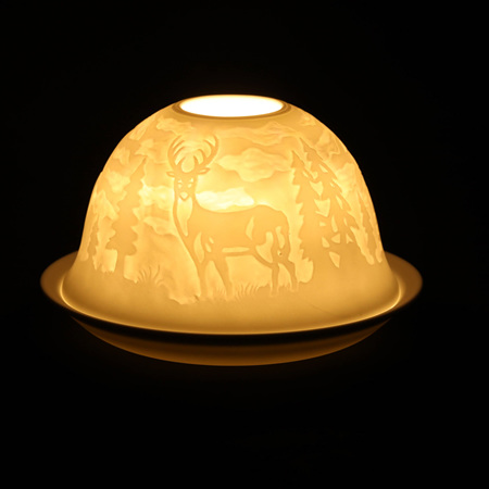 Porcelain Dome Light Deer Trail