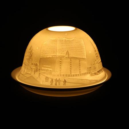 Porcelain Dome Light Hamburg, Germany